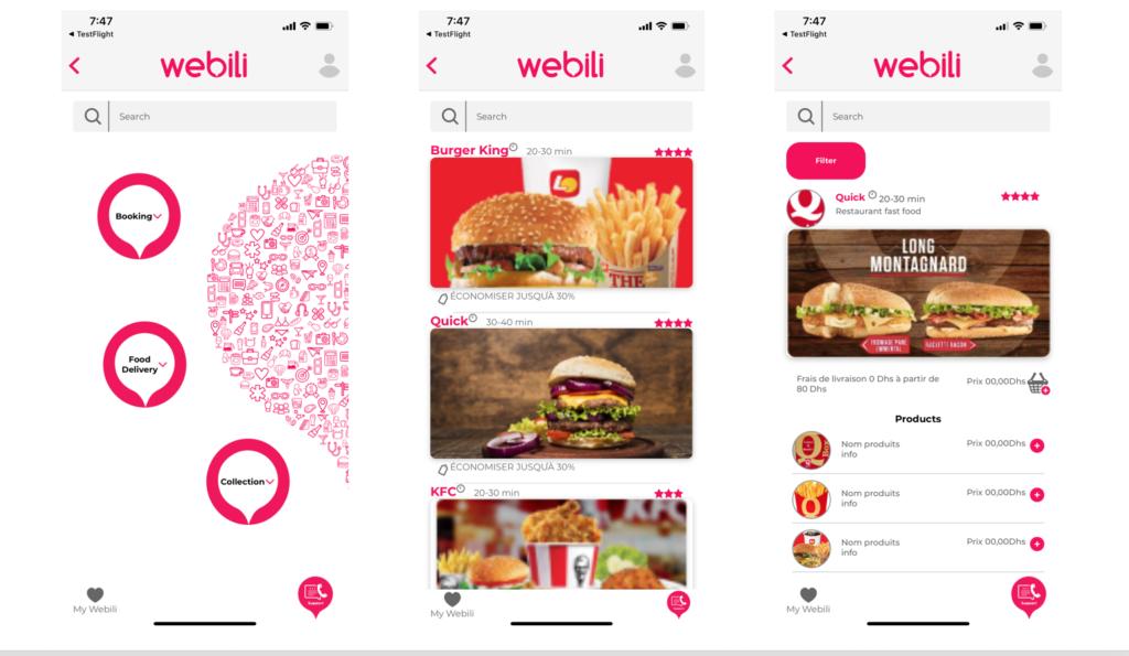 Vietnam mobile app developer - food delivery