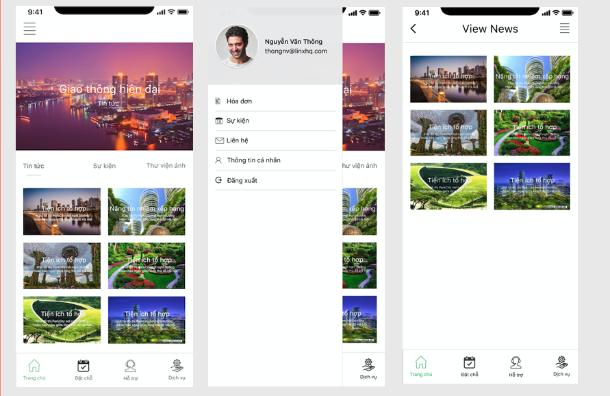 Condo residents mobile app - software development outsourcing to Vietnam